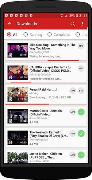 Cómo descargar música de Youtube en el móvil