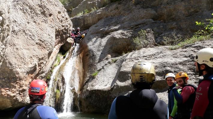 Mejores sitios donde hacer barranquismo en España. Serranía de Cuenca