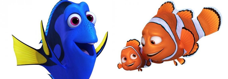 Buscando a Dory: Nemo, Marlin y Dory
