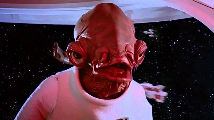 """Ackbar es uno de los personajes más icónicos de Star Wars por su frase: """"Es una trampa""""."""