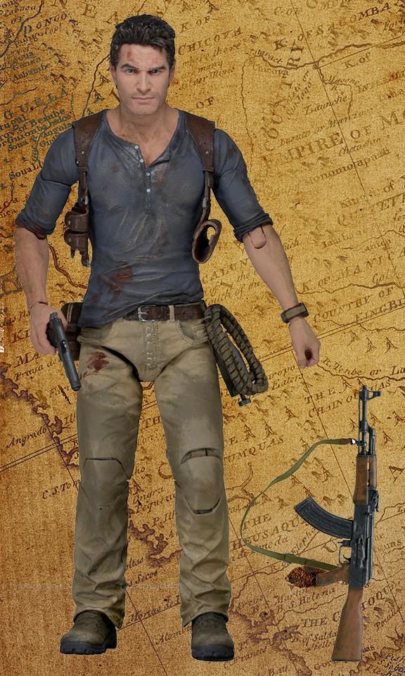 merchandising oficial de Uncharted 4 - Figura Nathan Drake