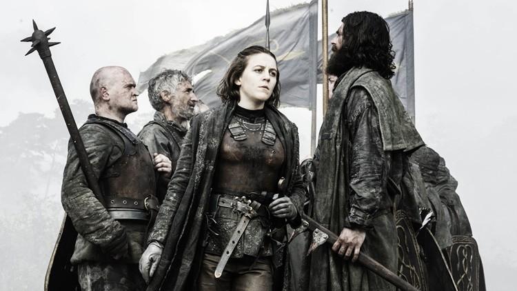 ¿En qué situación se encuentra Poniente? Al oeste de Poniente, los Greyjoy.