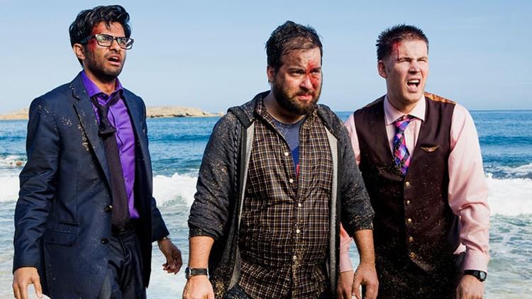 Wrecked es la serie que parodiará a Perdidos y que será emitida en el canal TBS el 14 de junio.