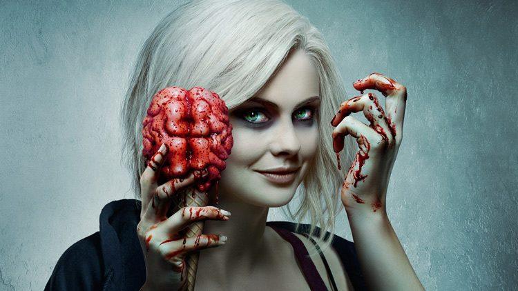 La serie iZombie se centra en Olivia Moore, una estudiante de medicina que se convierte en zombi.