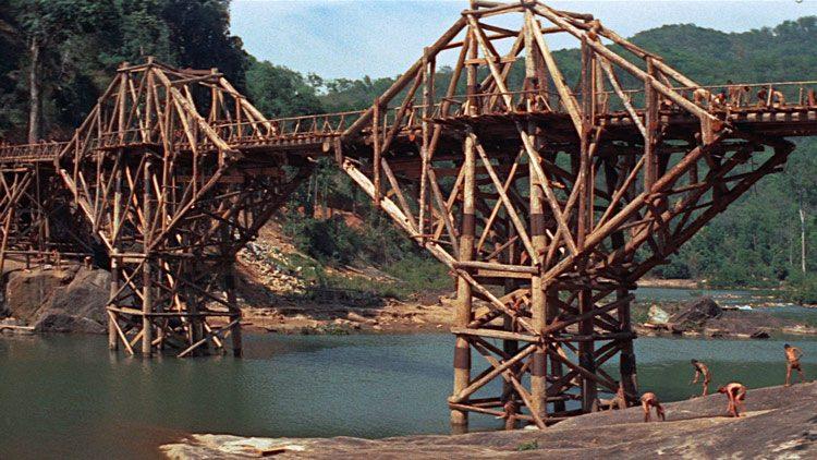 Top mejores películas bélicas de la IIGM. El puente sobre el río Kwai (1957)