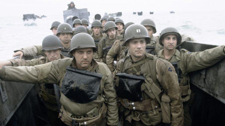 mejores películas bélicas de la Segunda guerra mundial. Salvar al soldado Ryan (1998)