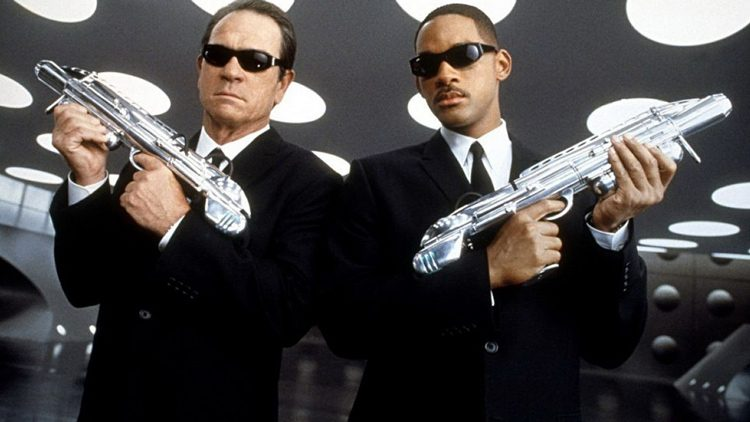 Top películas sobre aliens que vienen a la Tierra. Hombres de negro (1997)