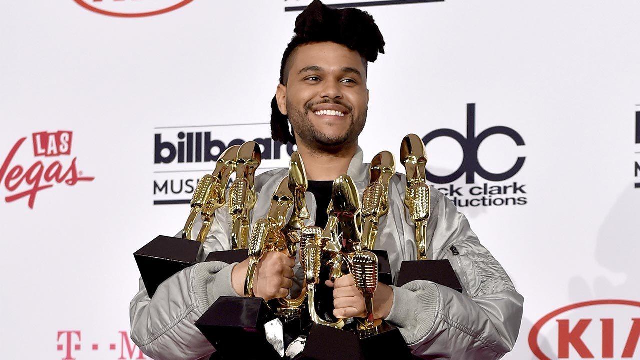 The Weeknd fue el gran triunfador de los Billboard Music Awards 2016 al llevarse ocho galardones
