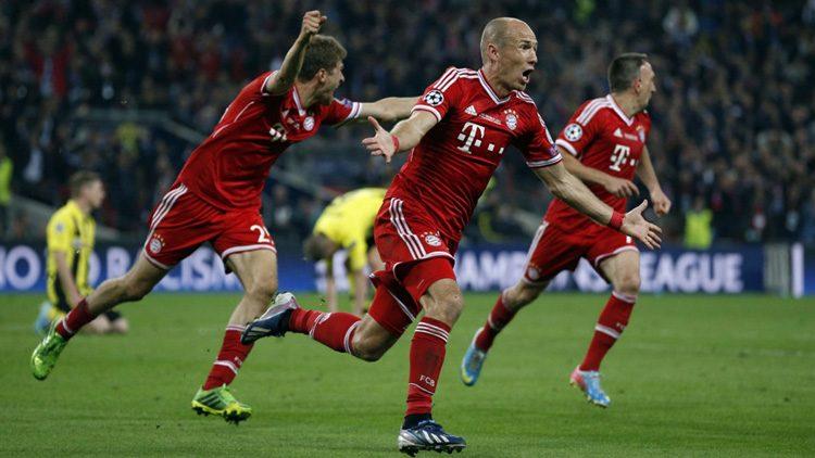 Futbolistas más top de las últimas finales de la Champions. Arjen Robben (Bayern de Múnich)