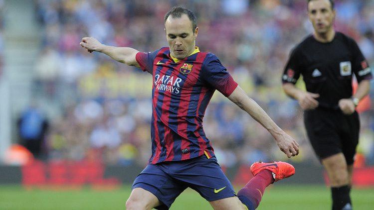 Futbolistas más top de las últimas finales de la Champions. Andrés Iniesta (FC Barcelona)