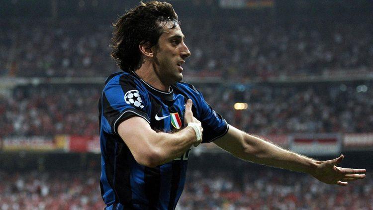 Futbolistas más top de las últimas finales de la Champions. Diego Milito (Inter de Milán)