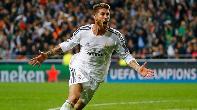 Futbolistas más top de las últimas finales de la Champions. Sergio Ramos (Real Madrid)