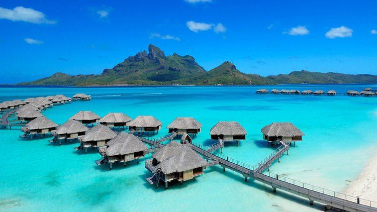 Top 10 islas más alucinantes del mundo. Bora Bora (Polinesia)