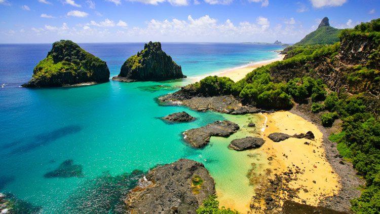 Top 10 islas más alucinantes del mundo. Fernando de Noronha (Brasil)