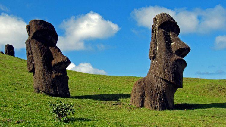 Top 10 islas más alucinantes del mundo. Isla de Pascua (Chile)