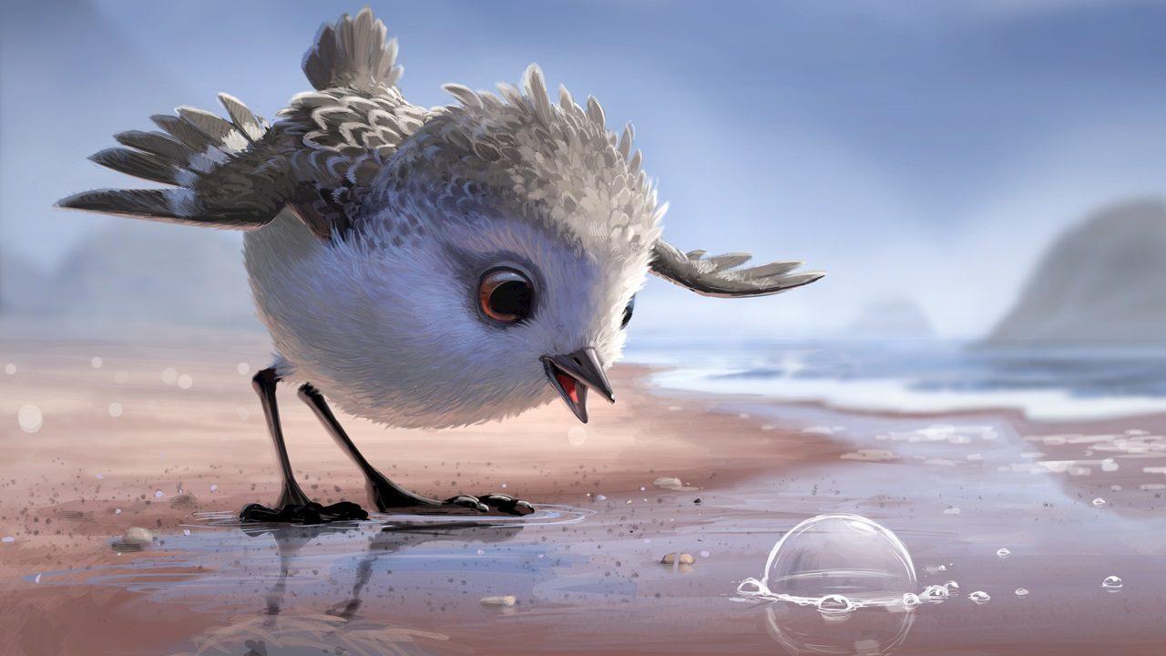 Así es Piper, el nuevo cortometraje de Pixar