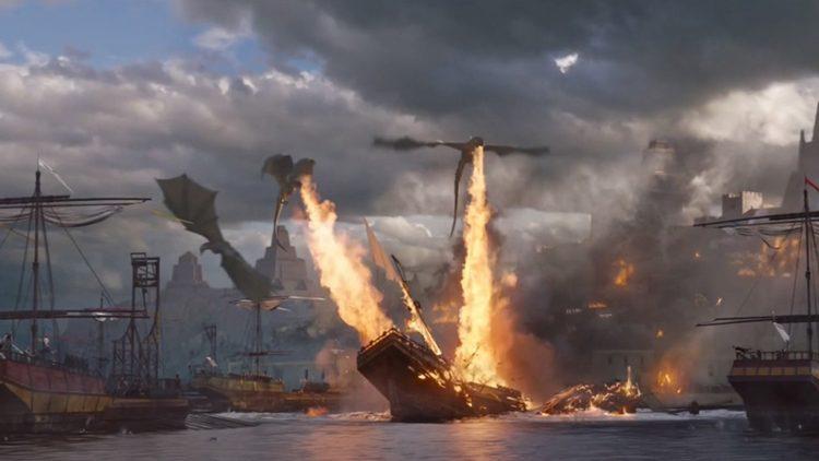 Reacciones al penúltimo episodio. Daenerys controla al fin a sus dragones para derrotar a sus enemigos.