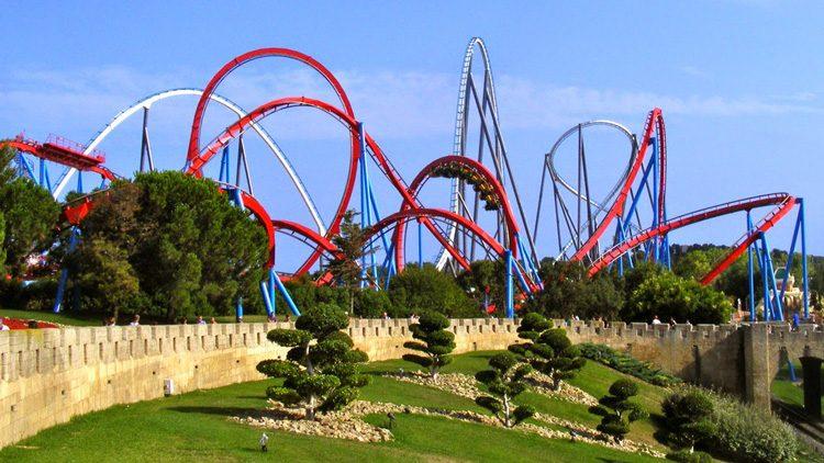 Los mejores parques de atracciones para el verano en España. PortAventura World Tarragona