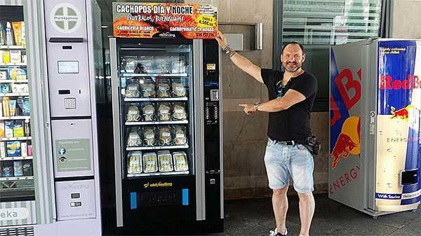 Cachopomatic, una máquina expendedora de Cachopos en Atocha