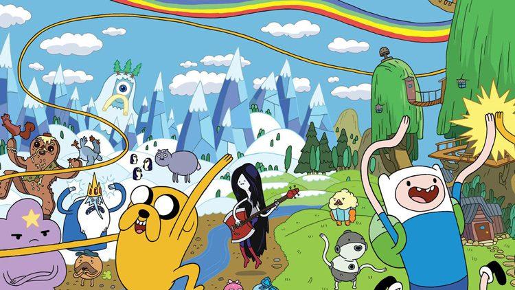 Hora de aventuras verá su fin en 2018, concluyendo por tanto las historietas vividas por Finn y Jake.