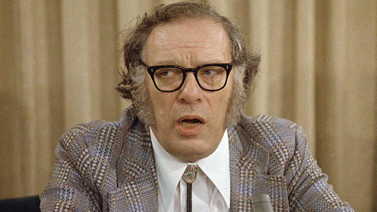 Isaac Asimov, celebritie que falleció por VIH