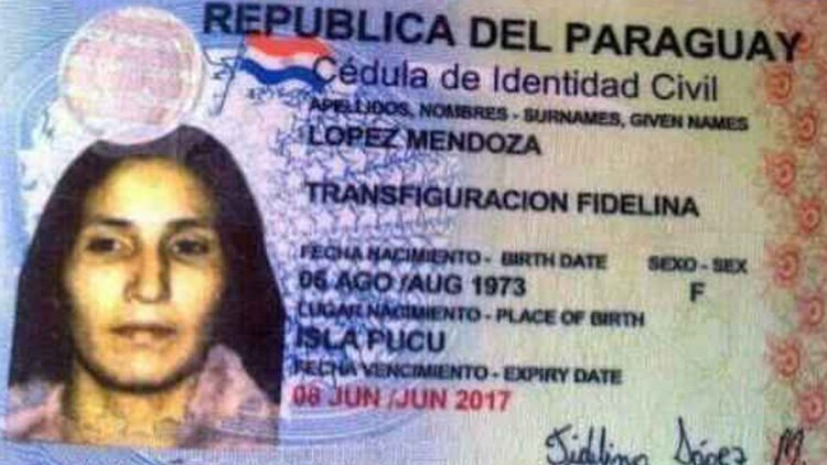Los 10 nombres de personas más raros del mundo: Transfiguración Fidelina López Mendoza