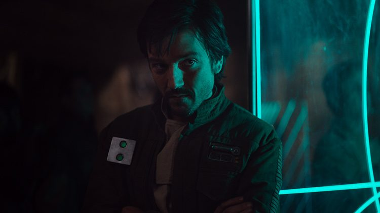 Diego Luna es Cassian Andor en Rogue One