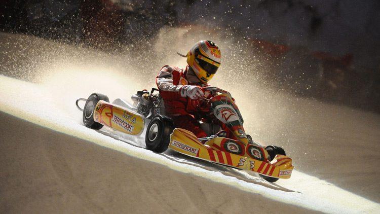 Ice karting, deportes motorizados para la montaña
