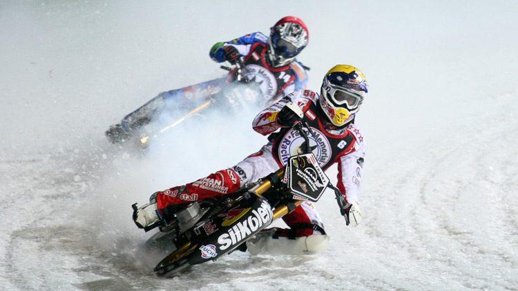 Ice speedway, deportes motorizados para la montaña