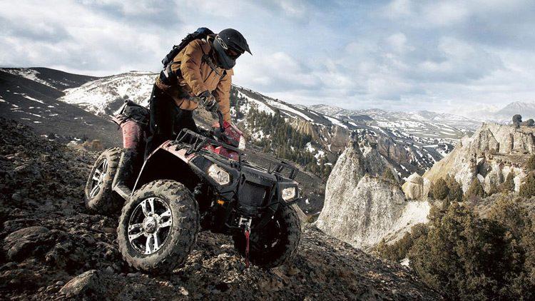 Quad, deportes motorizados para la montaña