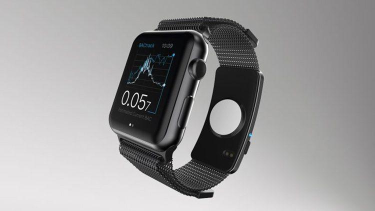 BACtrack Skyn es el wearable de Apple Watch