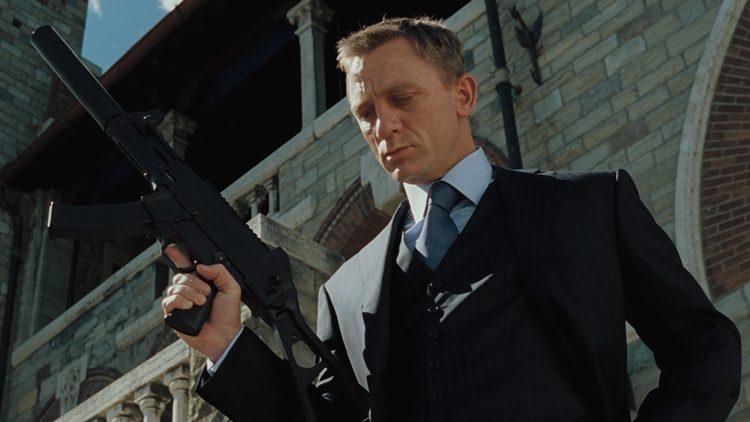 Los mejores tíos y tías de acción del siglo XXI: James Bond