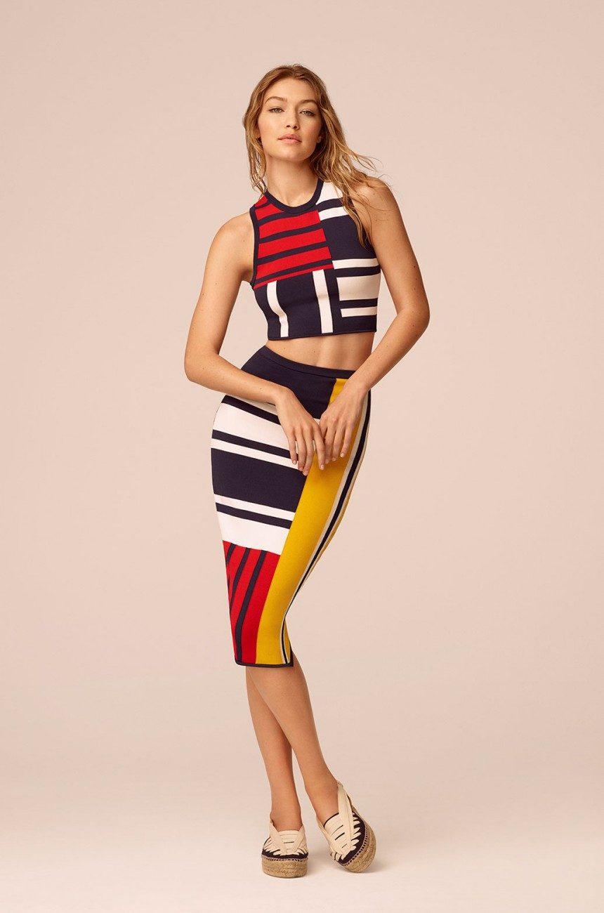 61cf20afb57be Así es la nueva colección de Gigi Hadid para Tommy Hilfiger