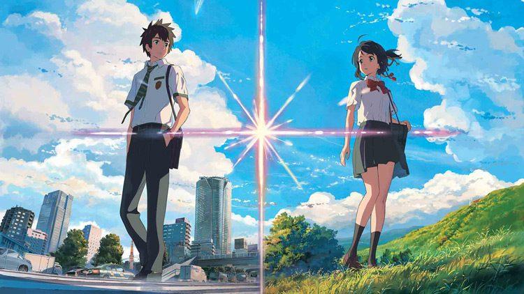 Your name, la supertaquillera película japonesa, llega a España