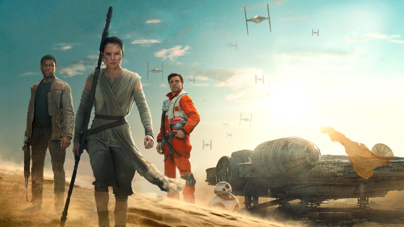 Poe, Rey y Finn se muestran en la primera imagen de The Last Jedi