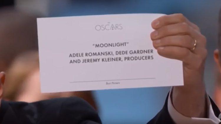 Moonlight gana el Oscar a La La Land