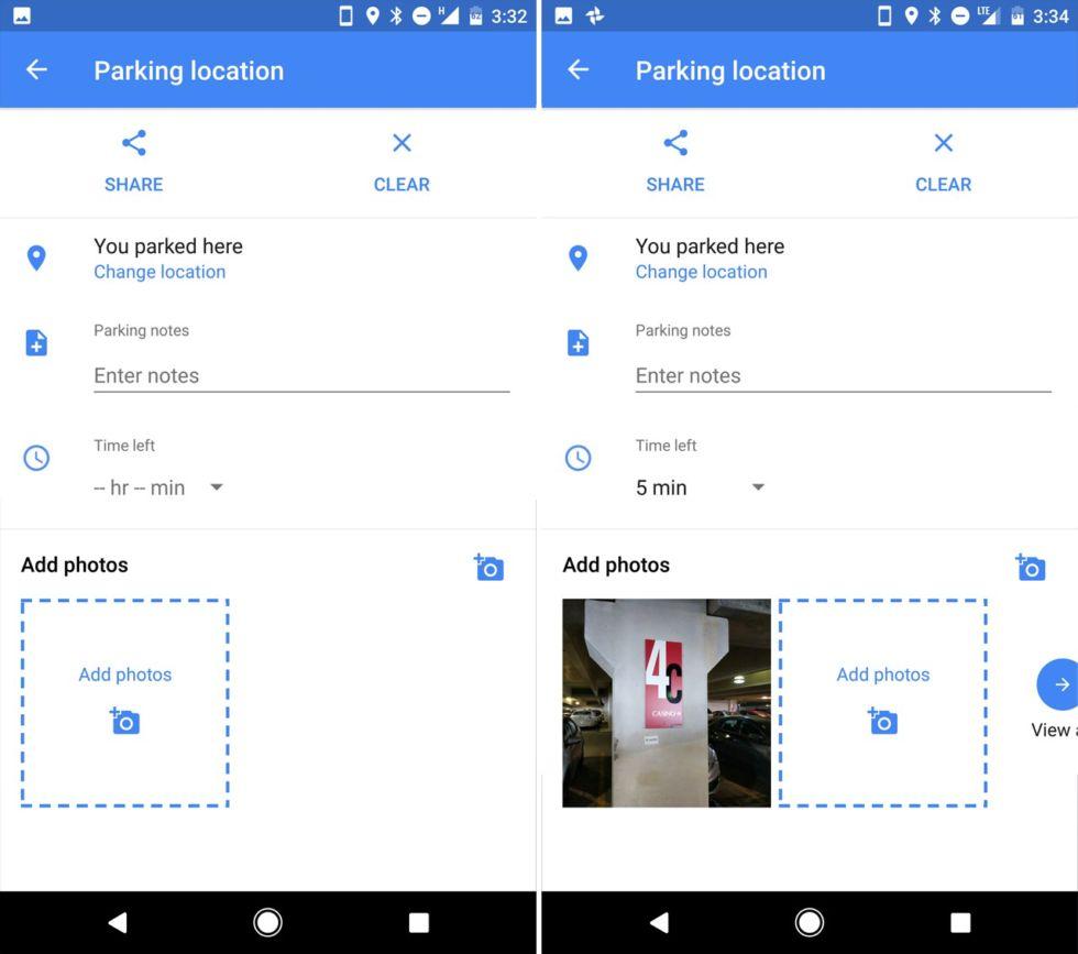 Google Maps por fin guarda la ubicación donde hemos aparcado el coche