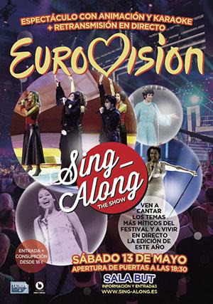 Eurovisión Sing-Along, una forma distinta de vivir el festival