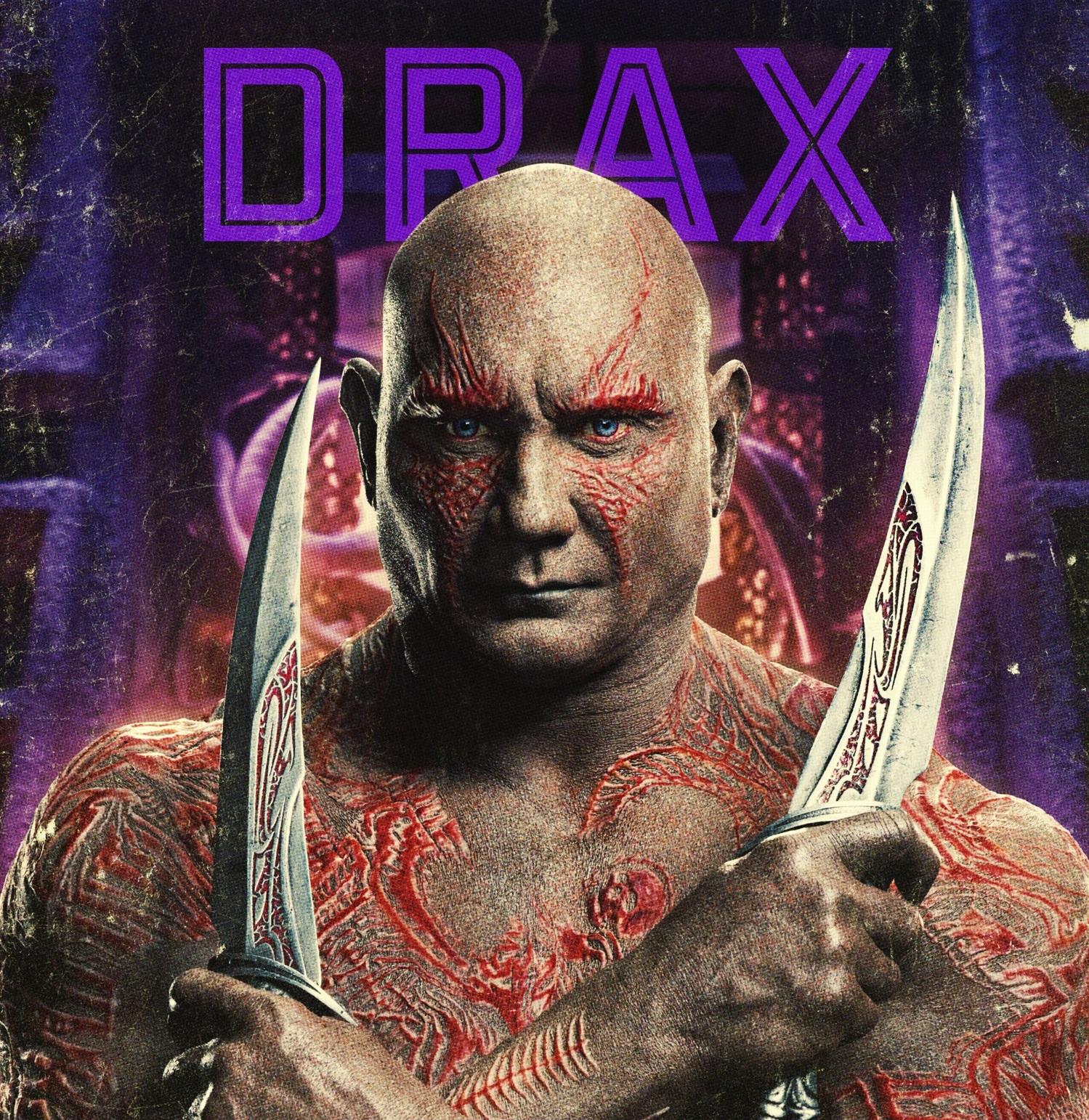 Personajes de Guardianes de la Galaxia (Drax)