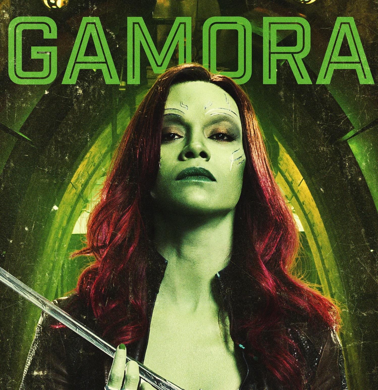 Personajes de Guardianes de la Galaxia (Gamora)