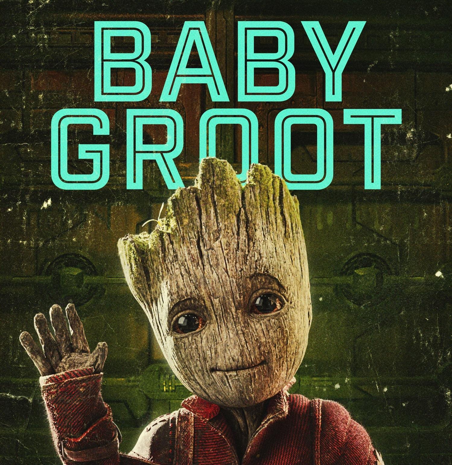 Personajes de Guardianes de la Galaxia (Groot)