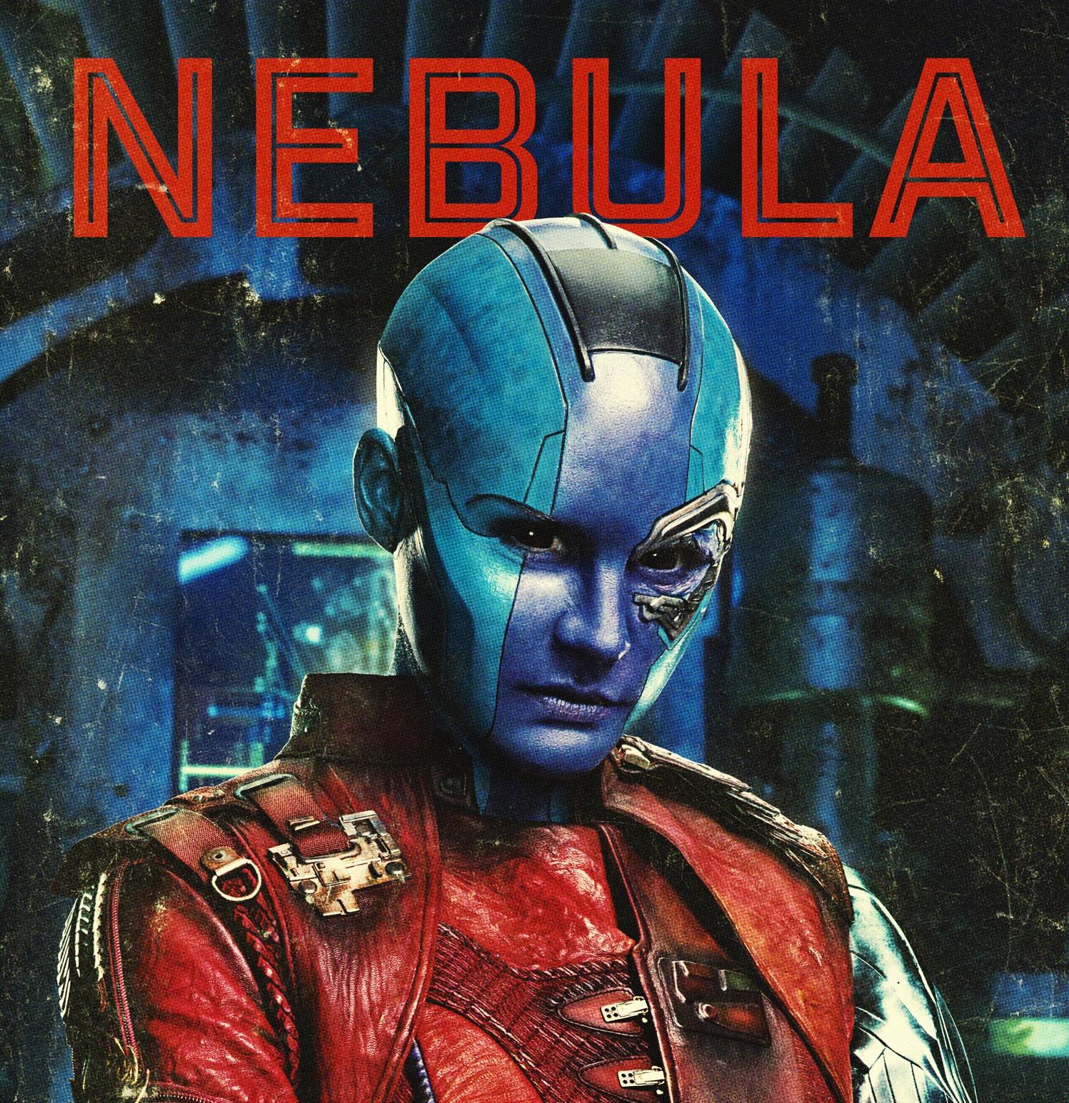 Personajes de Guardianes de la Galaxia (Nebula)