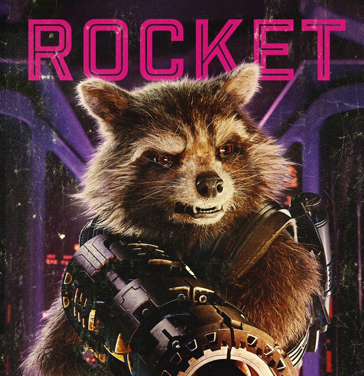 Personajes de Guardianes de la Galaxia (Rocket)