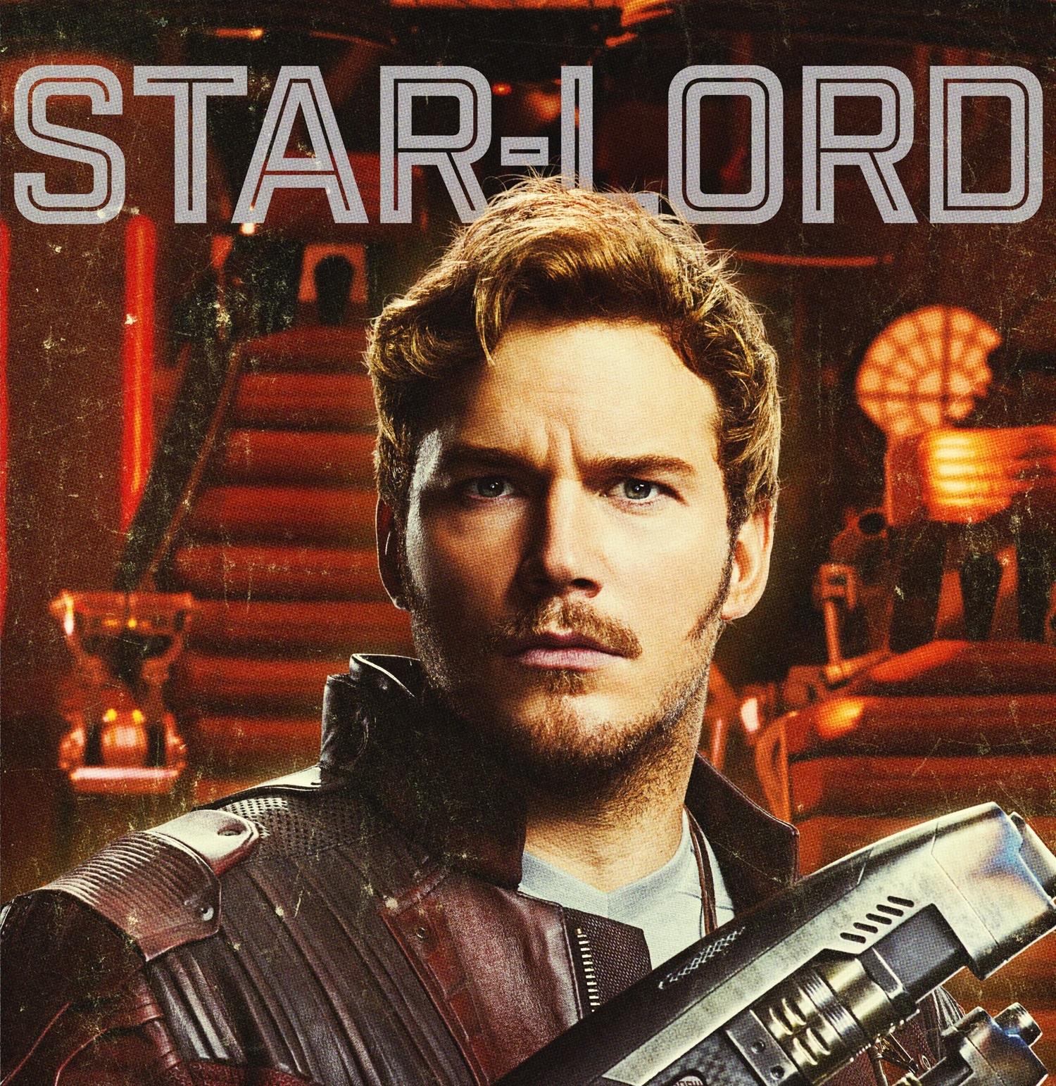 Personajes de Guardianes de la Galaxia (Star Lord)
