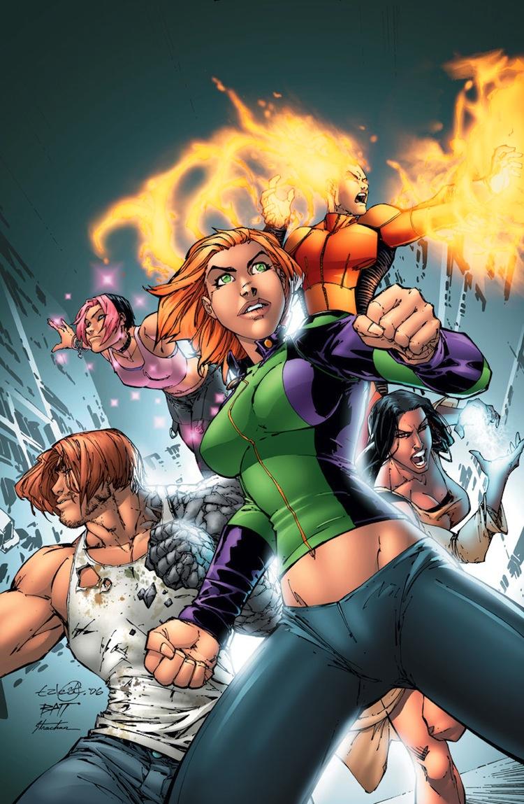 Superheroínas de los comics