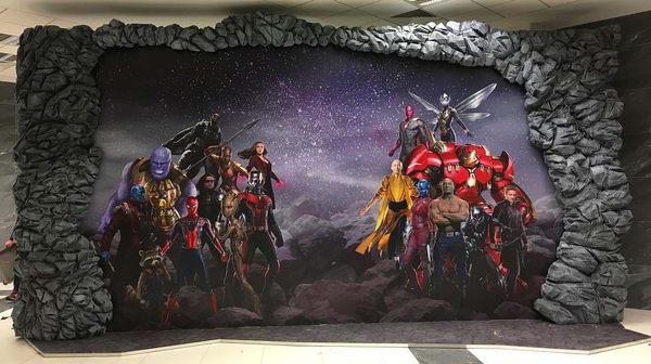 Póster mural de Vengadores