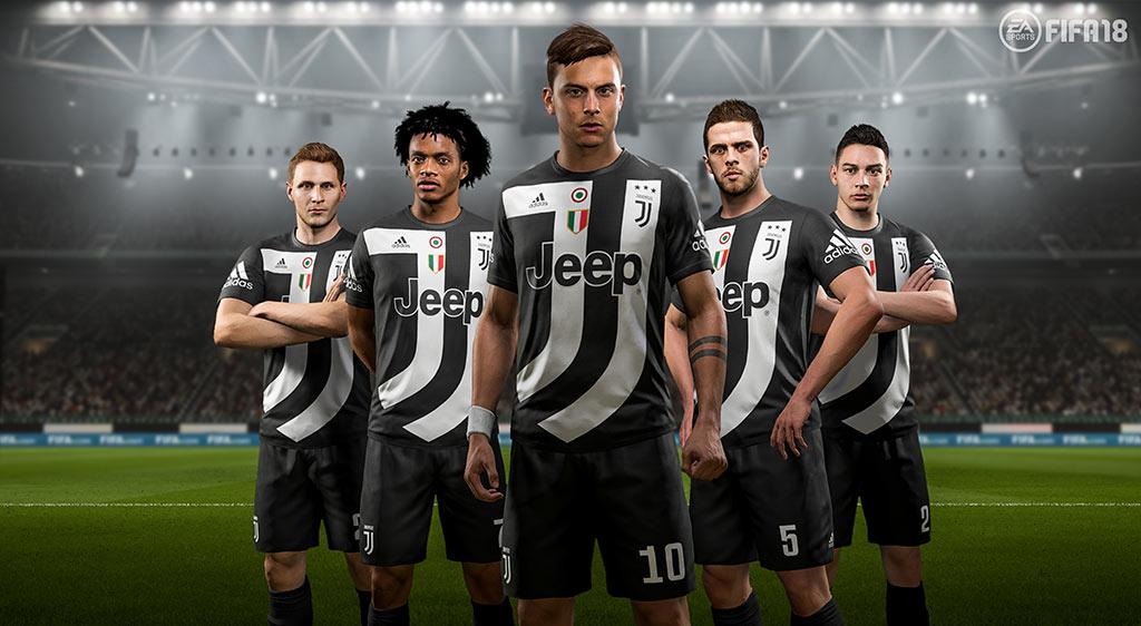 Nueva camiseta de la Juventus en FIFA 18