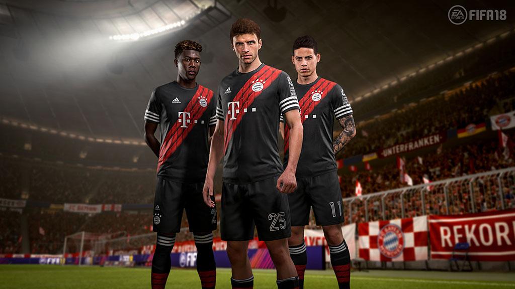 Nueva camiseta Bayern Munich
