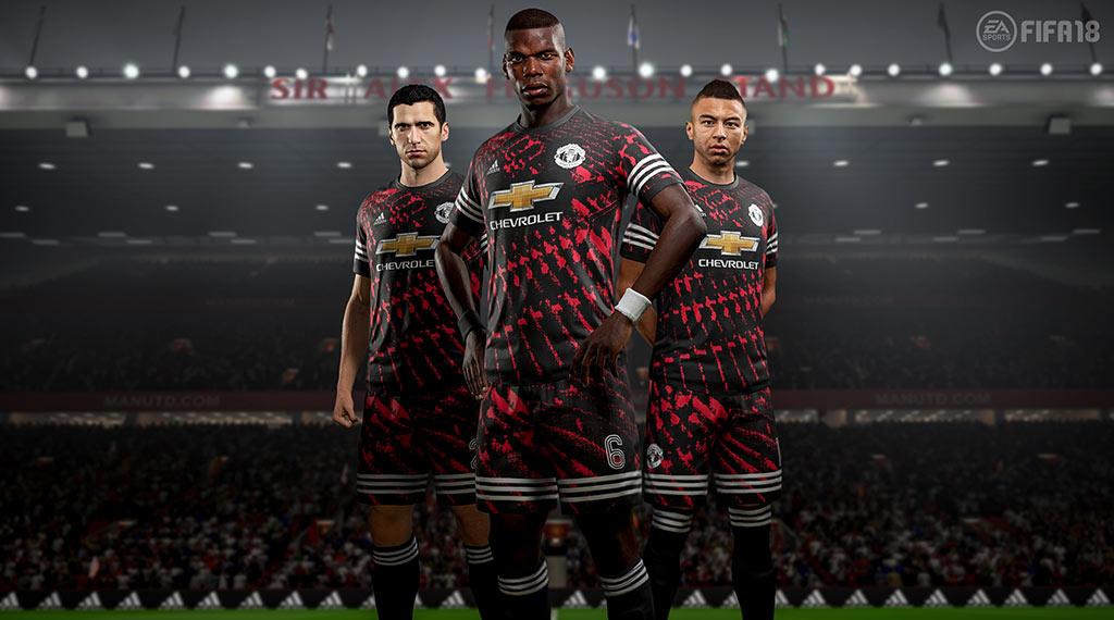 Nueva camiseta del Manchester United