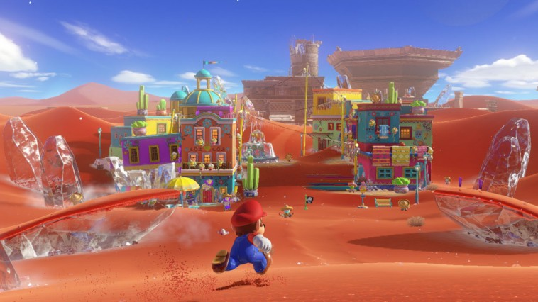 Super Mario Odissey en Switch